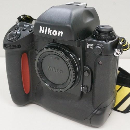 ニコンのフィルム一眼レフカメラ「F5」買取実績