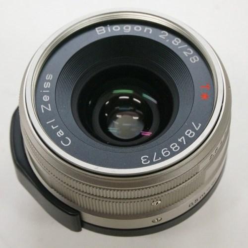 CarlZeissのレンズ「Biogon T* 28mm F2.8」買取実績