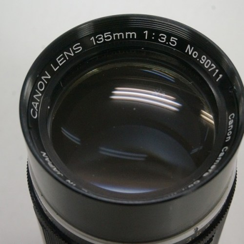 キャノンのレンズ「135mm F3.5 」買取実績