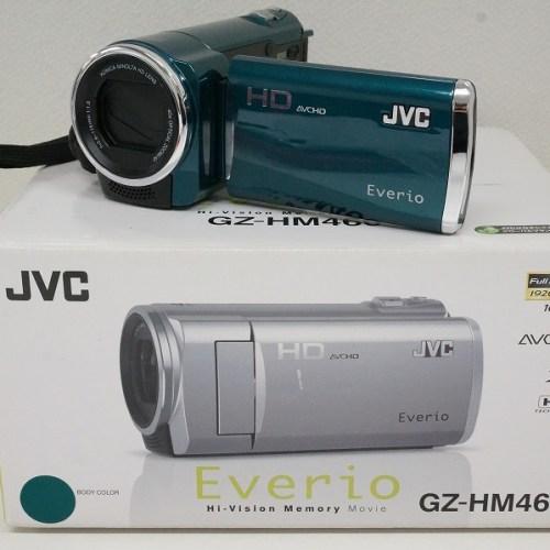 JVCのビデオカメラ「JVC Everio GZ-HM460-G」買取実績