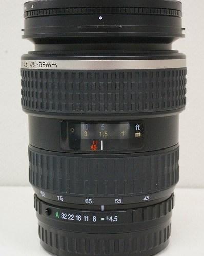 ペンタックスのレンズ「smc FA 645 45-85mm F4.5」買取実績