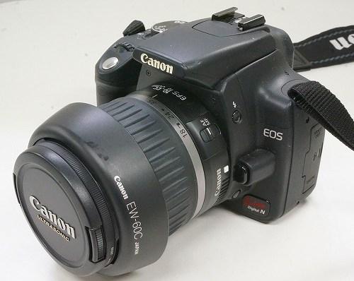 キャノンのデジタル一眼レフカメラ「EOS Kiss Digital N EF-S18-55mm」買取実績