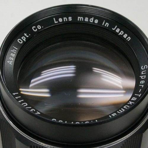 ペンタックスのレンズ「Super-Takumar 135mm F3.5 M42」買取実績