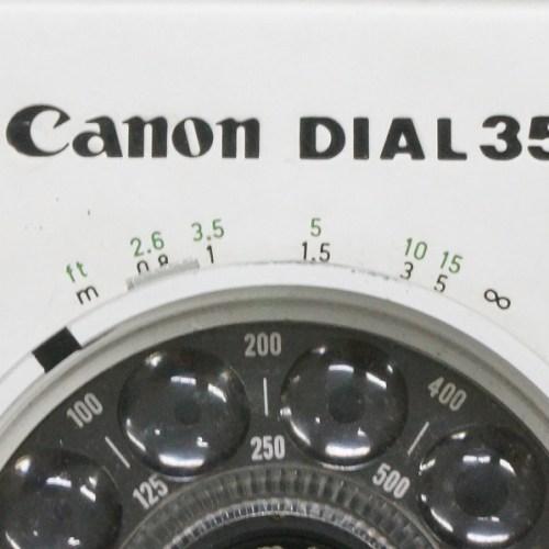 キャノンのフィルムコンパクトカメラ「DIAL 35」買取実績