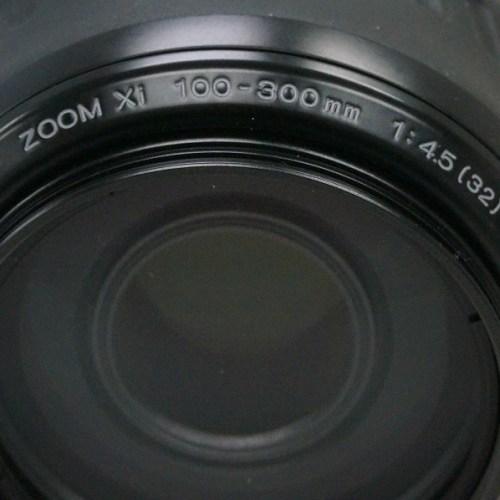 ミノルタのレンズ「AF ZOOM Xi 100-300mm F4.5-5.6」買取実績