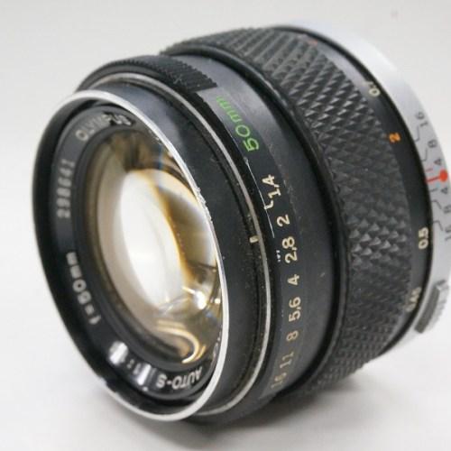 オリンパスのレンズ「G.ZUIKO AUTO-S 50mm F1.4」買取実績