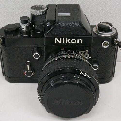ニコンのフィルム一眼レフカメラ「F2 フォトミック NIKKOR 50mm F1.2 レンズ」買取実績