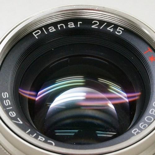コンタックスのレンズ「Planar 45mm F2 T* G」買取実績