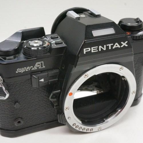 ペンタックスのフィルム一眼レフカメラ「SUPER A ボディ」買取実績