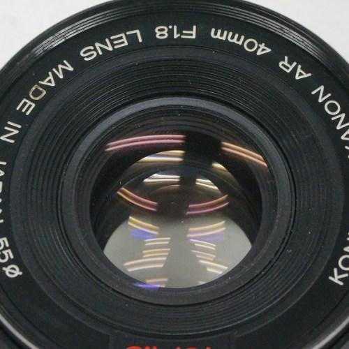 コニカのレンズ「HEXANON AR 40mm F1.8」買取実績