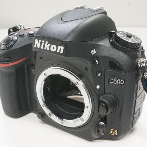 ニコンのデジタル一眼レフカメラ「D600 ボディ」買取実績