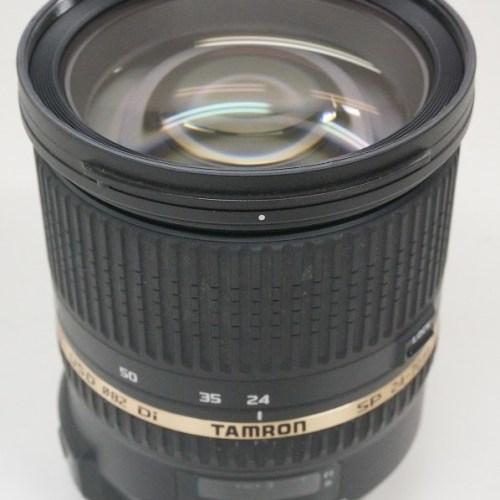 タムロンのレンズ「SP 24-70mm F2.8 Di VC USD ニコンFマウント用」買取実績