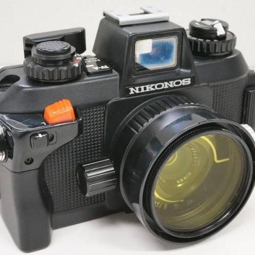 ニコンのコンパクトカメラ「NIKONOS Ⅳ-A 35mm F2.5」買取実績