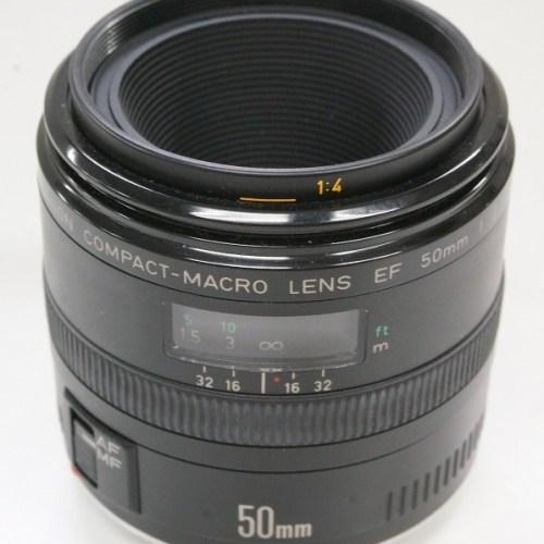 キャノンのレンズ「EF50㎜ F2.5 COMPACT MACRO」買取実績