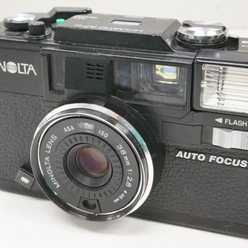 ミノルタのコンパクトカメラ「HI-MATIC AF-D」買取実績