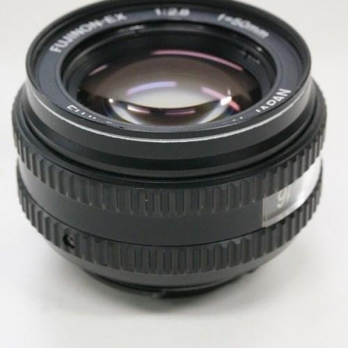 フジフィルムのレンズ「FUJINON-EX 50mm F2.8」買取実績