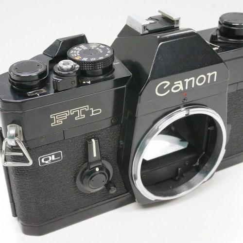 キャノンのフィルム一眼レフカメラ「FTb ブラックボディ 」買取実績
