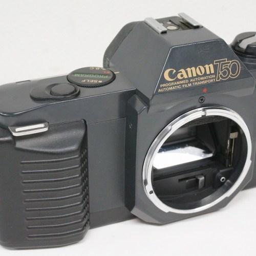 キャノンのフィルム一眼レフカメラ「T50」買取実績