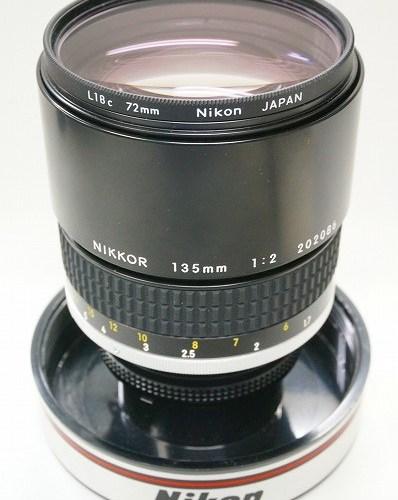 ニコンのレンズ「Ai-s NIKKOR 135mm F2」買取実績