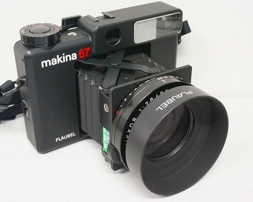 プラウベルの中判カメラ「makina67」買取実績