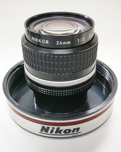 ニコンのレンズ「Ai-s NIKKOR 24mm F2」買取実績