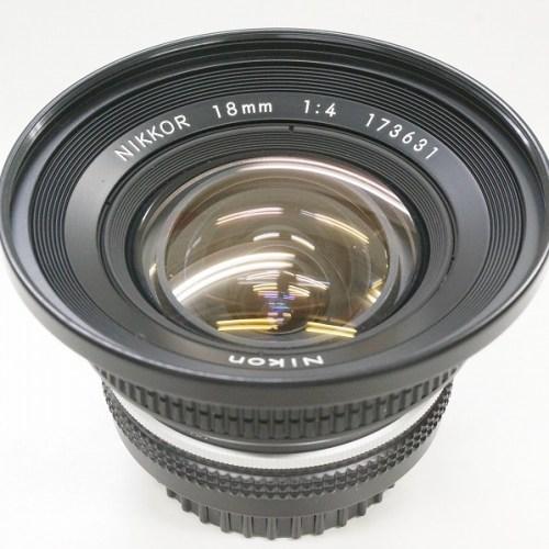 ニコンのレンズ「NIKKOR 18mm F4」買取実績