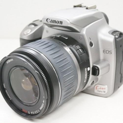 キャノンのデジタル一眼レフカメラ「EOS KISS DIGITAL N」買取実績