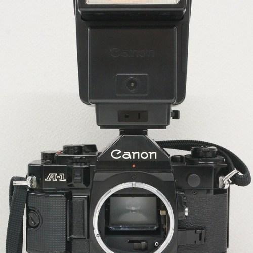 キャノンのフィルム一眼レフカメラ「A-1」買取実績