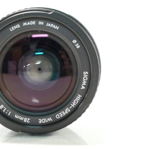 SIGMA ASPHERICAL HIGH SPEED WIDE 28mm F1.8  買取実績