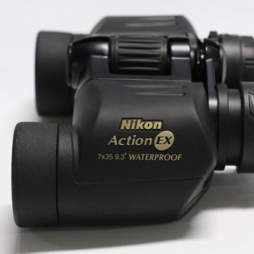 NIKON ニコン 防水双眼鏡 アクションEX 7×35の買取実績