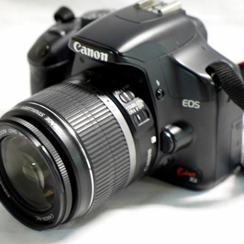 Canon EOS KissX2 + EFS-18-55mm買取実績