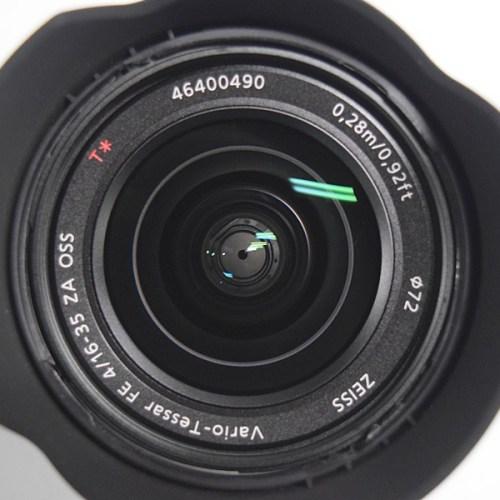 カメラ買取実績紹介「ソニー FE 16-35mm F4 ZA OSS SEL1635Z」