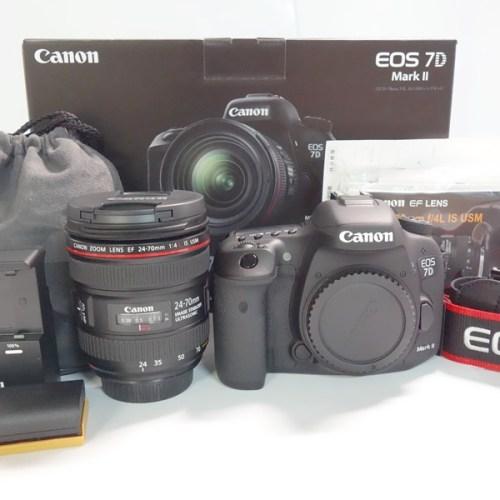 カメラ買取実績紹介「キャノン EOS 7D Mark2 EF24-70L IS USM レンズキット」