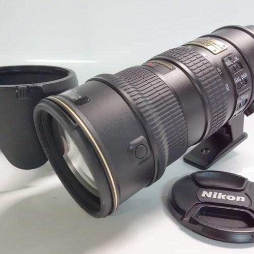 カメラ買取実績紹介「ニコン ED NIKKOR AF-S VR-NIKKOR 70-200mm F2.8G」