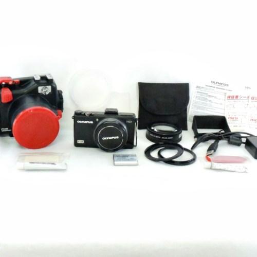 カメラ買取実績紹介「オリンパス(OLYMPUS) XZ-1 ブラック + PT-050 防水プロテクター付き」