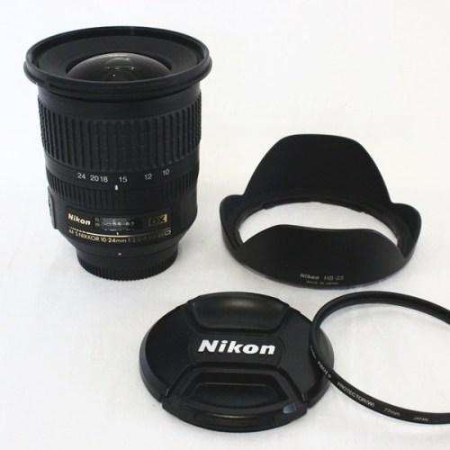 カメラ買取実績紹介「NIKON(ニコン)AF-S NIKKOR 10-24mm F3.5-4.5G ED DX」