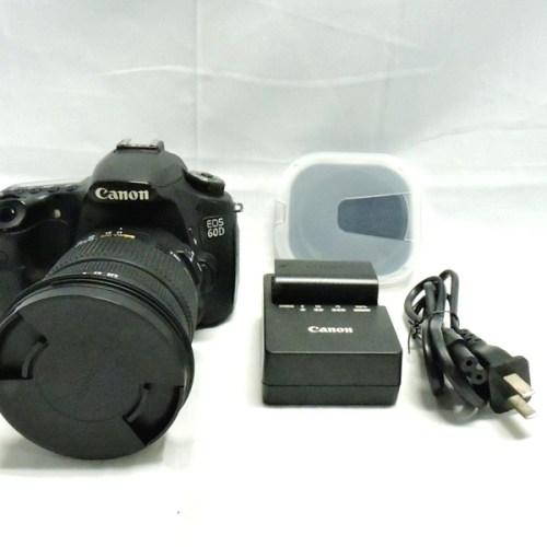 カメラ買取実績紹介「キャノン(CANON) EOS 60D ボディ + SIGMA ZOOM 17-50mm 1:2.8 EX DC OS HSM」