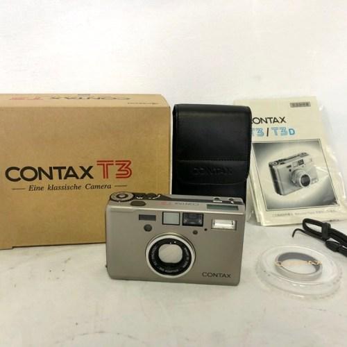 カメラ買取実績紹介「京セラ CONTAX T3 Sonnar 2.8/35 T*」