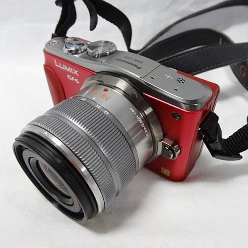 カメラ買取実績紹介「Panasonic パナソニック LUMIX DMC-GF6 ミラーレスカメラ レッド 14-42/45-150 Wズームキット」