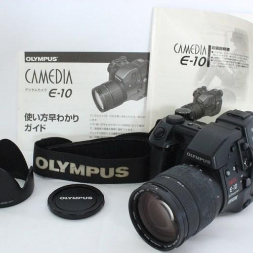 カメラ買取実績紹介「OLYMPUS オリンパス CAMEDIA E-10」
