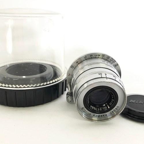 カメラ買取実績紹介「Nikon ニコン NIKKOR-Q.C 1:3.5 f=5cm Lマウント」