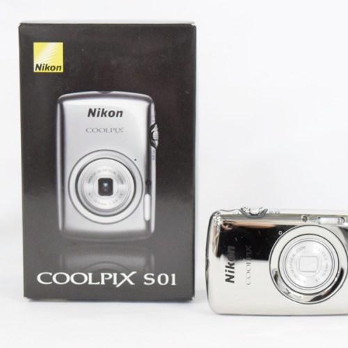 カメラ買取実績紹介「Nikon ニコン COOLPIX S01 バッテリー劣化」