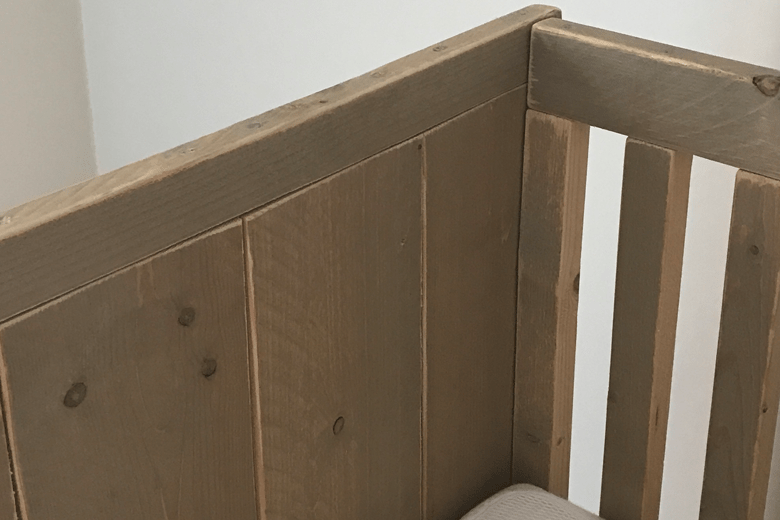 Upcycling babybed