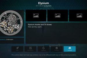 Elysium Kodi