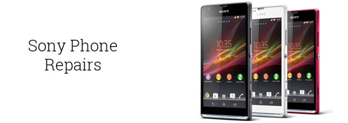 sony xperia repairing services