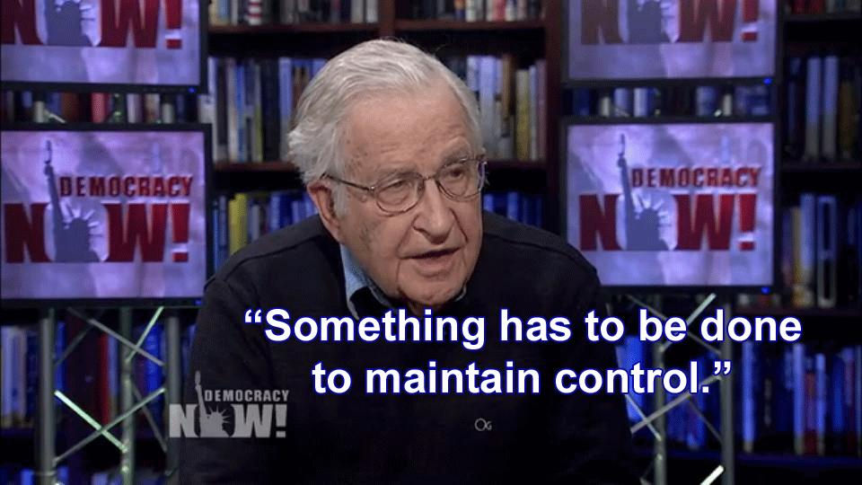 Noam Chomsky Warns of 'Staged Attack' Two Days Before Syria Bombing