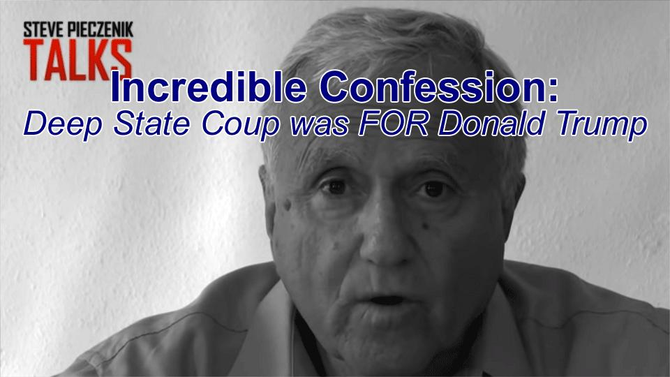 Deep State Operative Admits Coup FOR Donald Trump Before the Election