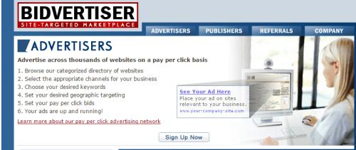 Bidvertiser Ads