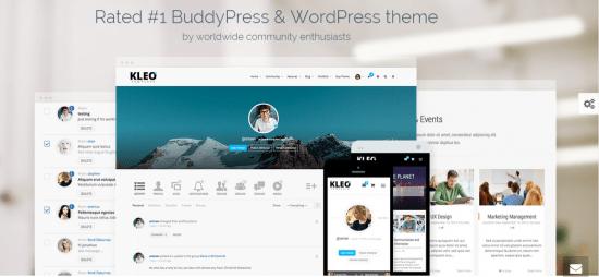 KLEO-premium BuddyPress Theme