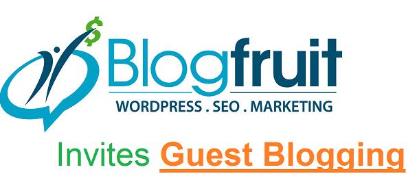Blogfruit Guest Blogging
